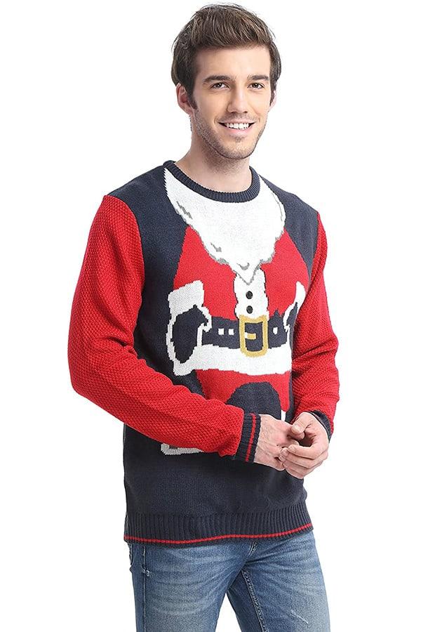 Pull Moche Père Noël - Vue de coté